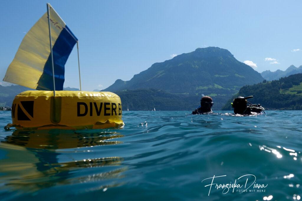 Funny Diving goes Swisslakes, Vierwaldstättersee