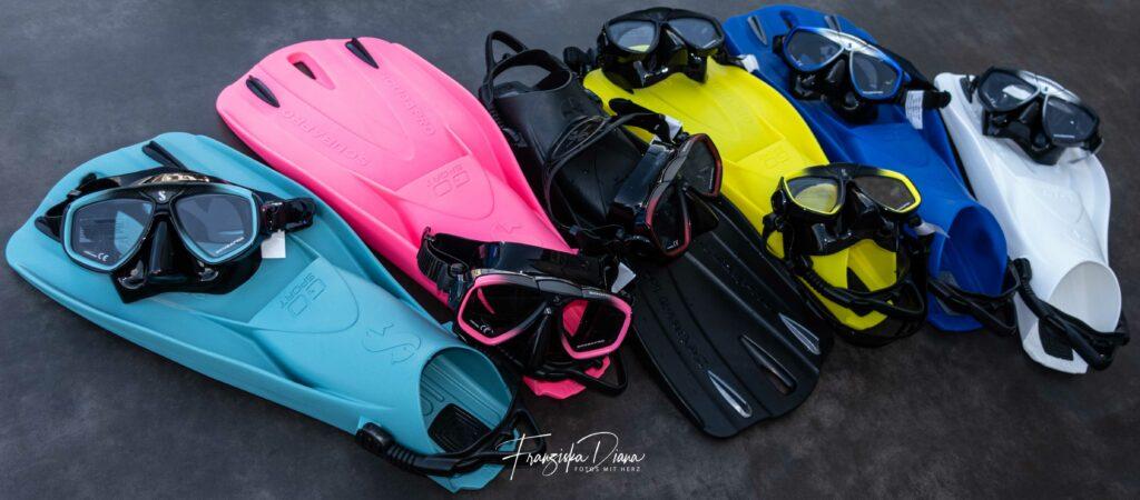 Fröhliche Farben an Lager von Scubapro Go Sport